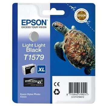 Cartus Cerneala Epson T1579 Light Light Black 25.9ml for Stylus Photo R3000 C13T15794010