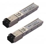 Modul SFP Dual Fiber, Single Mode155 Mbps, distanta 20kmConector LC/PCPRODUS NOU
