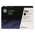 Pachet Cartus Toner HP Nr. 80X Black 2 Bucati 2x6900 Pagini for LaserJet Pro 400 M401, M425 CF280XD