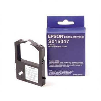 Ribbon Epson C13S015047 Black for Epson LX-100