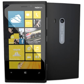 "Telefon Mobil Nokia Lumia 920 Black 4G 4.5"" 768 x 1280 Krait 1.5GHz Dual Core memorie interna 32GB Camera Foto 8MPx Windows 8 Phone NOK920BLK"