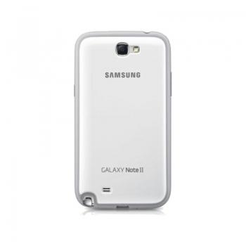 Husa Samsung pentru N7100 Galaxy Note II White EFC-1J9BWEGSTD