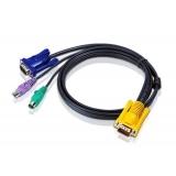 Cablu KVM Aten 2L-5202P PS/2 1.8m