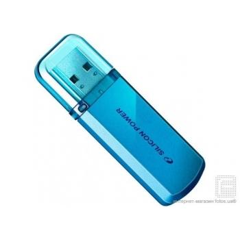 Memorie USB Silicon Power Helios Blue 101 Nand 8GB USB 2.0 Albastru SP008GBUF2101V1B