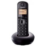 Telefon DECT cu ecran matricial, 1 linie, display iluminat, CLIP, agenda 50 numere, alarma, speed dial, culoare negru