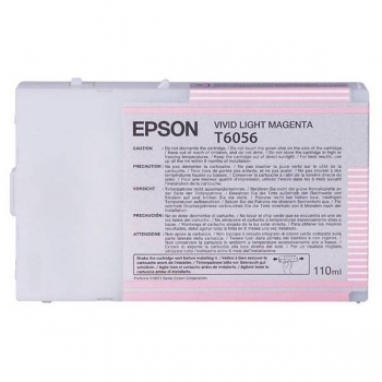 Cartus Cerneala Epson T6056 Vivid Light Magenta 110ml for Stylus Pro 4880 C13T605600