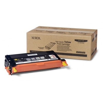 Cartus Toner Xerox 113R00725 Yellow High Capacity 6000 Pagini for Phaser 6180DN, Phaser 6180DT, Phaser 6180MFP/D, Phaser 6180N
