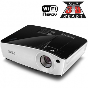 Videoproiector BenQ MX661 DLP 1024x768 3D Ready 3000ANSI 13000:1 HDMI VGA USB Wireless Ready 9H.J8F77.33E