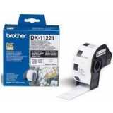 Rola Etichete Brother DK11221 square paper label Dimensiune 23mm black on white 1000 de bucati