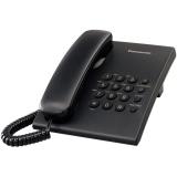 Telefon analogic Panasonic TS500FXB Negru KX-TS500FXB