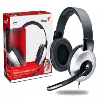 Casti Genius HS-05A cu microfon si control de volum 31710011100