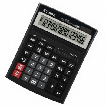Calculator de birou Canon WS-1610T 16 Digit Dual Power BE0696B001AA