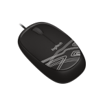 CORDED MOUSE M105 BLACK WER OCCIDENT PACKAGING IN