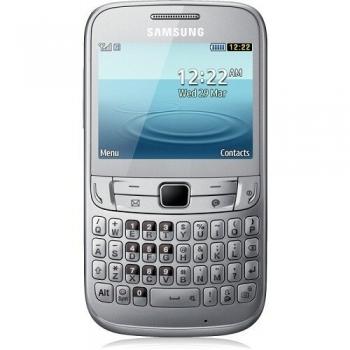 Telefon Mobil Samsung Chat S3570 Silver qwerty WiFi SAMS3570SLV