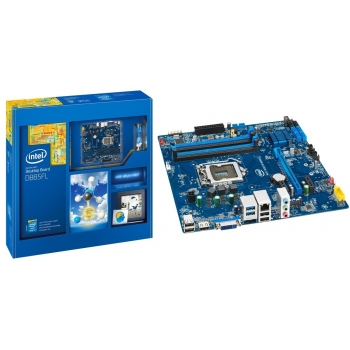 Placa de baza Intel DB85FL Socket 1150 Chipset Intel B85 4x DIMM DDR3 1x PCI-E x16 3.0 2x PCI-E x1 HDMI DVI 2x USB 3.0 MicroATX Bulk BLKDB85FL