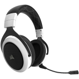 Casti Wireless Corsair Headset HS70 White Sunet 7.1 Noise-canceling Microfon detasabil