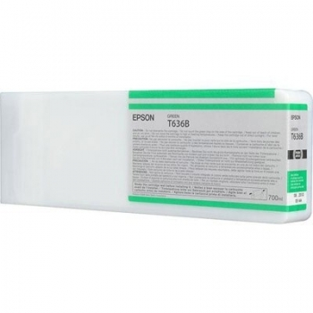 Cartus Cerneala Epson T636B Green C13T636B00 700ML for Epson Stylus Pro 7900, Stylus Pro 7900 Stylus Pro 7900 UV, Stylus Pro 9900