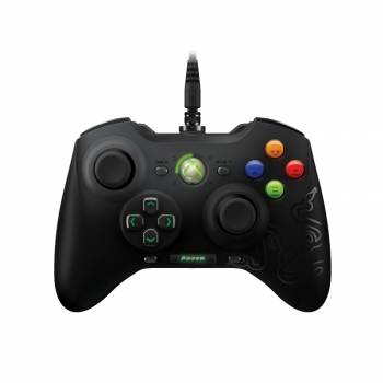 Gamepad Razer Sabertooth Hyperesponse action buttons, OLED screen, Quick-release USB connector PC, Xbox 360 RZ06-00890100-R3G1