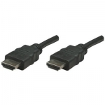 Cablu HDMI Manhattan Male to Male Shielded Black 7.5 m 308441