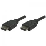 Cablu HDMI Manhattan Male to Male Shielded Black 7.5 m 308441