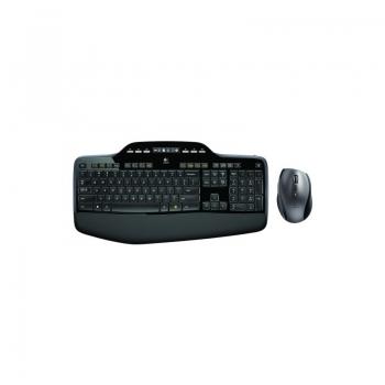 Kit Wireless Tastatura+Mouse Logitech MK710 Wireless Mouse optic USB Black 920-002440