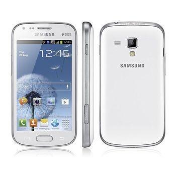 "Telefon Mobil Samsung Galaxy S S7562 Pure White Dual SIM 4"" 480 x 800 TFT Cortex A5 1GHz memorie interna 4GB Camera Foto 5MPx Android v4.0 SAMS7562PWH"