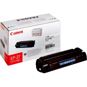 Cartus Toner Canon EP-27 Black 2500 Pagini for LBP 3200, MF 3110EE, Laserbase 3220, 3240, 5530, 5550, 5630, 5650, 5730, 5750, 5770, MF 3110 CR8489A002AA