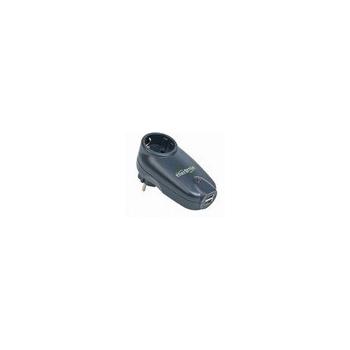 Priza cu protectie Gembird 2 x USB chargers protectie supratensiune SPG1-U