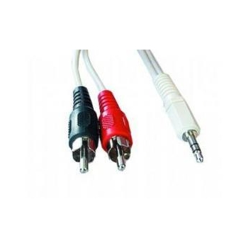 Cablu Audio Gembird CCA-458-10M 3.5mm jack la RCA 10m