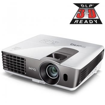 Videoproiector BenQ MW721 DLP 1280x800 3D Ready 3500ANSI 13000:1 HDMI VGA USB Retea