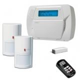 Kit DSC KIT IMPASSA - 1 centrala IMPASSA - SCW 9055 - 2 detectori - WLS 4904 - 1 telecomanda LCD - WT4989 - 1 contact magnetic WLS4945