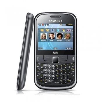 Telefon Mobil Samsung S3350 Chat 335 Metallic Black qwerty WiFi SAMS3350BLK