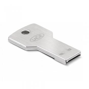 Memorie USB LaCie PetiteKey 32GB USB 2.0 AES 256-bit encryption waterproof and scratch-resistant Metalic 9000348