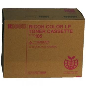 Cartus Toner Ricoh Type 105 Magenta 10000 pagini for Ricoh Aficio AP 3800, Aficio CL 7000, Aficio CL 7100 885408