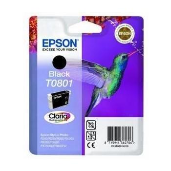 Cartus Cerneala Epson T0801 Black 7.4ml for Epson Stylus Photo PX700W, R265, R285, R360, RX560, RX585 C13T08014011