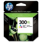 Cartus Cerneala HP Nr. 300XL Color Vivera Inks 440 Pagini for Deskjet D1660, D2560, D2660, D5560, F2420, F2480, F2492, F4210, F4280, F4580, Photosmart C4680, Photosmart C4780 AIO CC644EE