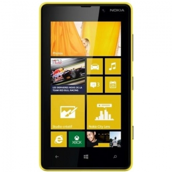 "Telefon Mobil Nokia Lumia 820 Yellow 4.3"" 480 x 800 Krait Dual Core 1.5GHz memorie interna 8GB 3G 4G Windows Phone 8 NOK820YLW"