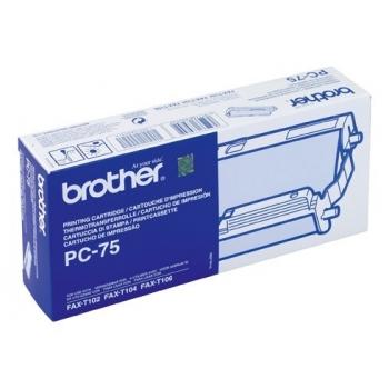 Ribon Brother PC75 144 pagini for FAX-T104, FAX-T106