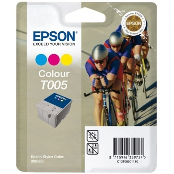 Cartus Cerneala Epson T005 Color 570 Pagini for Stylus 900N, 950, 980, 980N, Color 900 C13T00501110