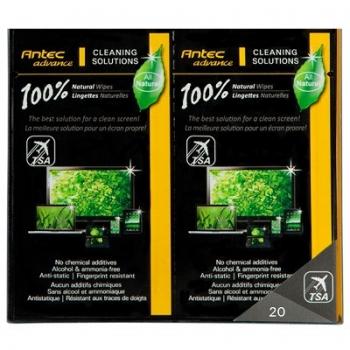 Servetele Antec 100% Natural Wipes 20p