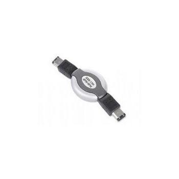 Cablu FireWire Gembird CCB-FWPR-66-3 IEEE 1394 6PM-6PM 1 m Retractabil