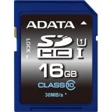 Card Memorie SDHC ADATA 16GB Clasa 10 UHS-I ASDH16GUICL10-R