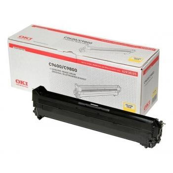 Unitate Cilindru Oki 42918105 Yellow 30000 Pagini for C9600DN, C9600HDN, C9600HDTN, C9600N, C9650DN, C9650HDN, C9650HDTN, C9650N, C9800HDN, C9800HDTN, C9850HDN, C9850HDTN, C9850MFP