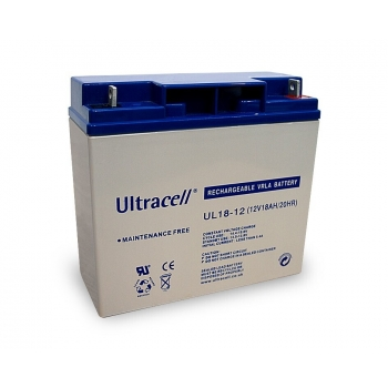 BATTERY 12V 18AH/UL18-12 ULTRACELL