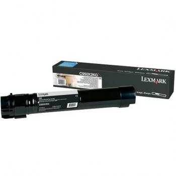Cartus Toner Lexmark C950X2KG Black Extra High Yield 38000 Pagini for Lexmark C950DE
