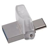 Memorie USB Kingston DataTraveler microDuo 3C 32GB USB 3.1 + USB Type-C DTDUO3C/32GB