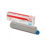 Cartus Toner Oki 43487711 Cyan 6000 Pagini for C8600N, C8800N