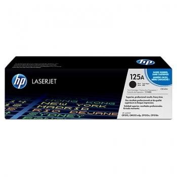 Cartus Toner HP Nr. 125A Black 2200 Pagini for Color LaserJet CM1312, CM1312NFI, CP1215, CP1515N, CP1518 CB540A