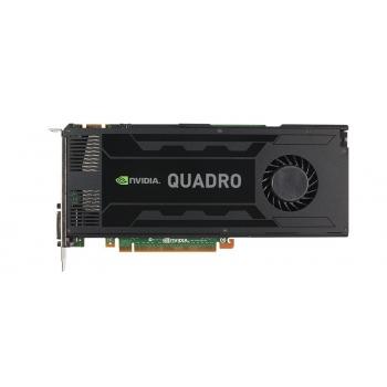 Placa Video PNY nVidia Quadro K4000 3GB GDDR5 192bit PCI-E x16 2.0 2xDVI DisplayPort VCQK4000-PB