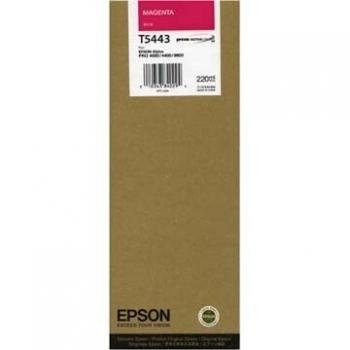 Cartus Cerneala Epson T5443 Magenta 220ml for Stylus Pro 4000, 7600, 9600 C13T544300